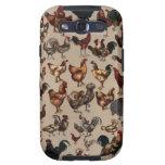 ¡Aves de corral del mundo! Pollos, pollos, pollos Samsung Galaxy S3 Carcasas