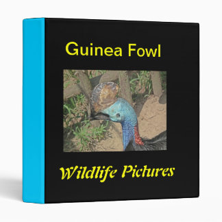 Aves de Guinea Carpeta 2,5 Cm