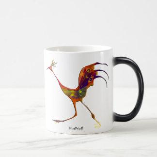 Aves del país taza mágica