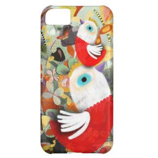 Aves domesticadas Chooks rojas del gallo Funda Para iPhone 5C