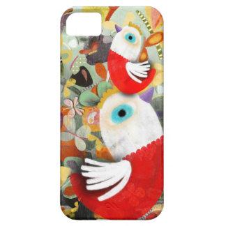 Aves domesticadas Chooks rojas del gallo iPhone 5 Carcasas
