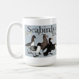 Aves marinas del mundo tazas de café