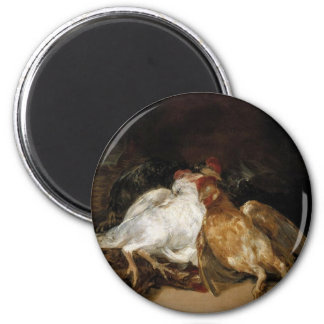 Aves Muertas - Francisco de Goya Magnet