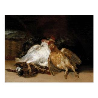 Aves Muertas - Francisco de Goya Tarjeta Postal
