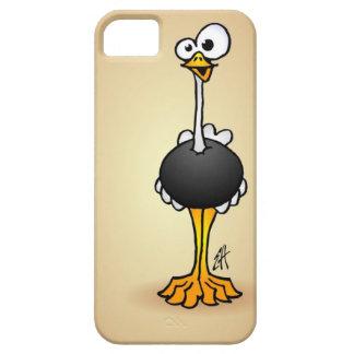 Avestruz Funda Para iPhone 5 Barely There