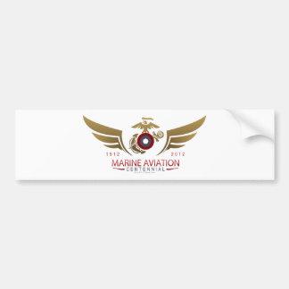 AVI Centenial Logo Bumper Sticker