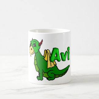 Avi (with name) coffee mug