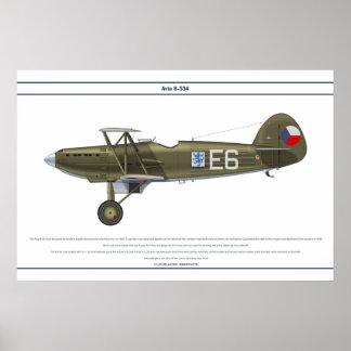 Avia B-534 Checo 1 Posters