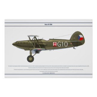 Avia B-534 Checo 5 Posters