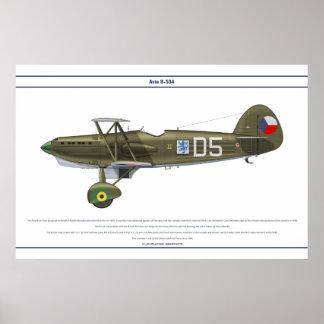 Avia B-534 Checo 6 Posters