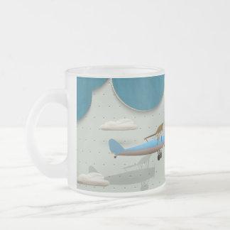 Aviación banal taza de cristal