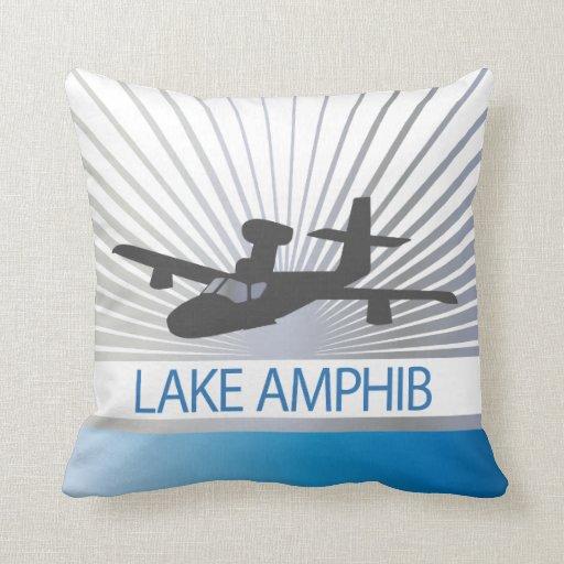 Aviación de Amphib del lago Cojines