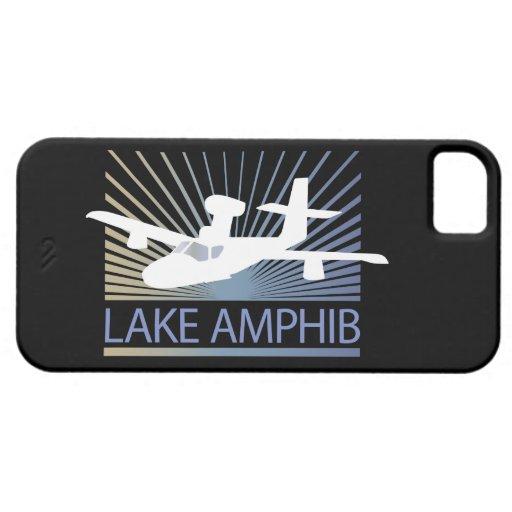 Aviación de Amphib del lago iPhone 5 Carcasas