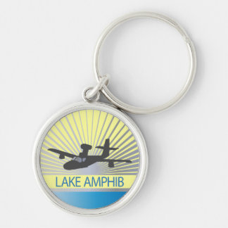 Aviación de Amphib del lago Llavero Personalizado