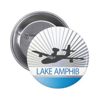Aviación de Amphib del lago Pin Redondo De 2 Pulgadas