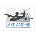 Aviación de Amphib del lago Postal