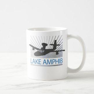 Aviación de Amphib del lago Taza Básica Blanca