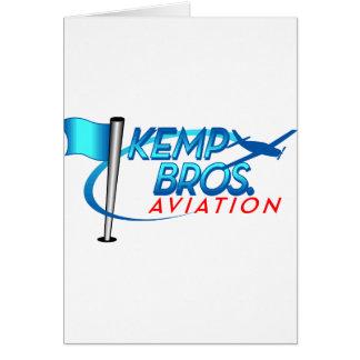 Aviación de los hermanos de Kemp Felicitacion