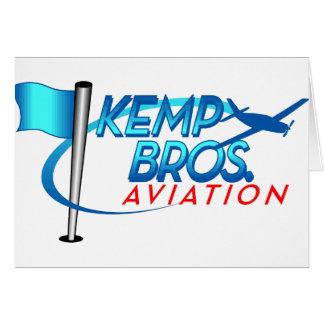 Aviación de los hermanos de Kemp Tarjeta