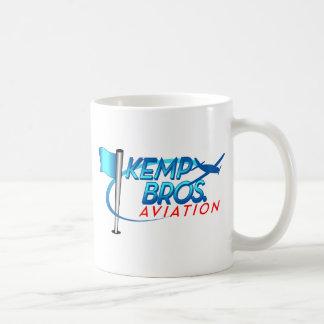 Aviación de los hermanos de Kemp Tazas De Café