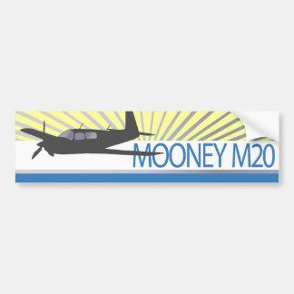 Aviación de Mooney M20 Etiqueta De Parachoque