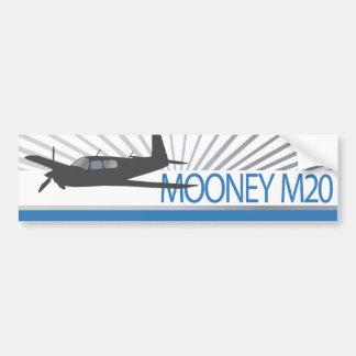 Aviación de Mooney M20 Pegatina De Parachoque