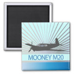 Aviación de Mooney M20 Iman De Frigorífico