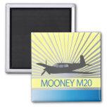 Aviación de Mooney M20 Iman Para Frigorífico