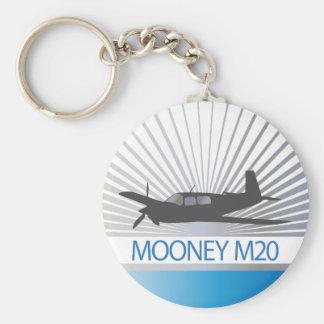 Aviación de Mooney M20 Llaveros Personalizados