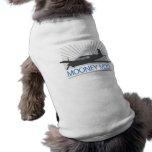 Aviación de Mooney M20 Playera Sin Mangas Para Perro