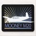 Aviación de Mooney M20 Tapetes De Ratón