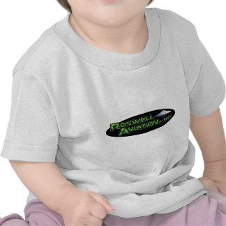 Aviación de Roswell Camiseta