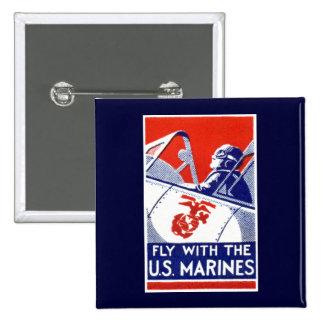 Aviación del Cuerpo del Marines de WWII Pin
