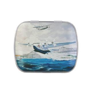 Aviación naval jarrones de caramelos