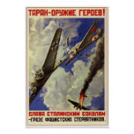 Aviación soviética 1941 de URSS Poster