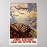 Aviación soviética 1954 de URSS Posters