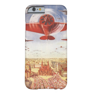 Aviación soviética funda para iPhone 6 barely there
