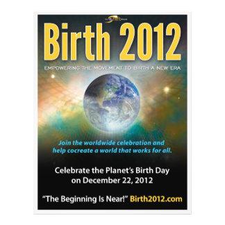 Aviador 2012 - impresión llena del nacimiento (25  flyer a todo color