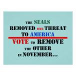 Aviador anti de Obama del personalizar Tarjetas Publicitarias