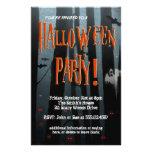 Aviador asustadizo del fiesta de Halloween de made Flyer Personalizado