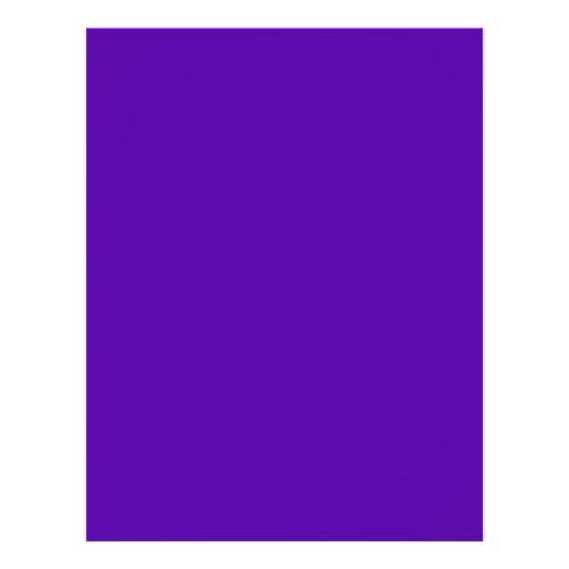 Aviador bilateral púrpura y negro flyer a todo color