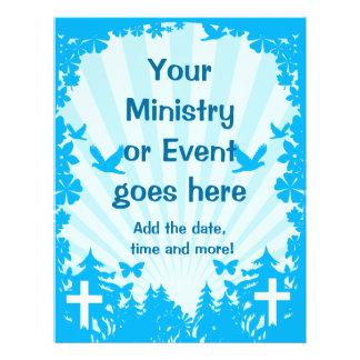 Aviador cristiano intrépido y fresco tarjetas informativas