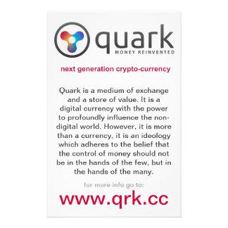 Aviador Crypto de la moneda del Quark el | Quarkco