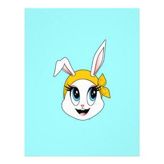 """Aviador Cutesy de Bunny™ Folleto 8.5"""" X 11"""""""
