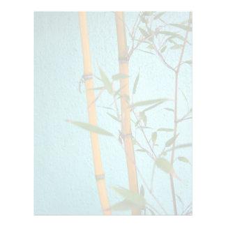 "Aviador de bambú afortunado del documento de folleto 8.5"" x 11"""