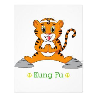 "Aviador de Kung Fu Tiger™ Folleto 8.5"" X 11"""