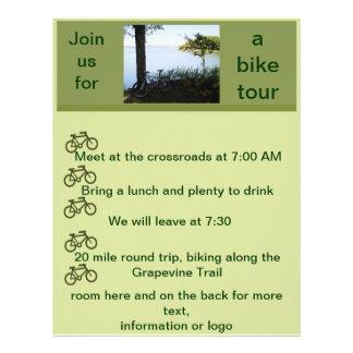 Aviador de la bicicleta tarjeta publicitaria