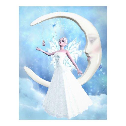 Aviador de la hada del cielo de la luna flyer a todo color