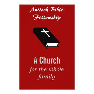 """Aviador de la iglesia cristiana - personalizable  Flyer Personalizado"