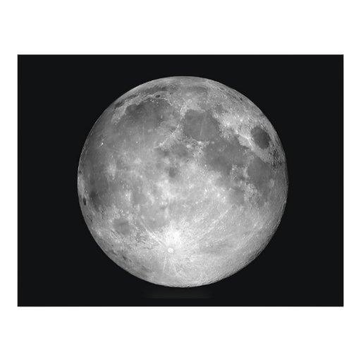 Aviador de la Luna Llena Tarjetones